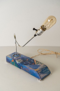 lamp with ethno pattern